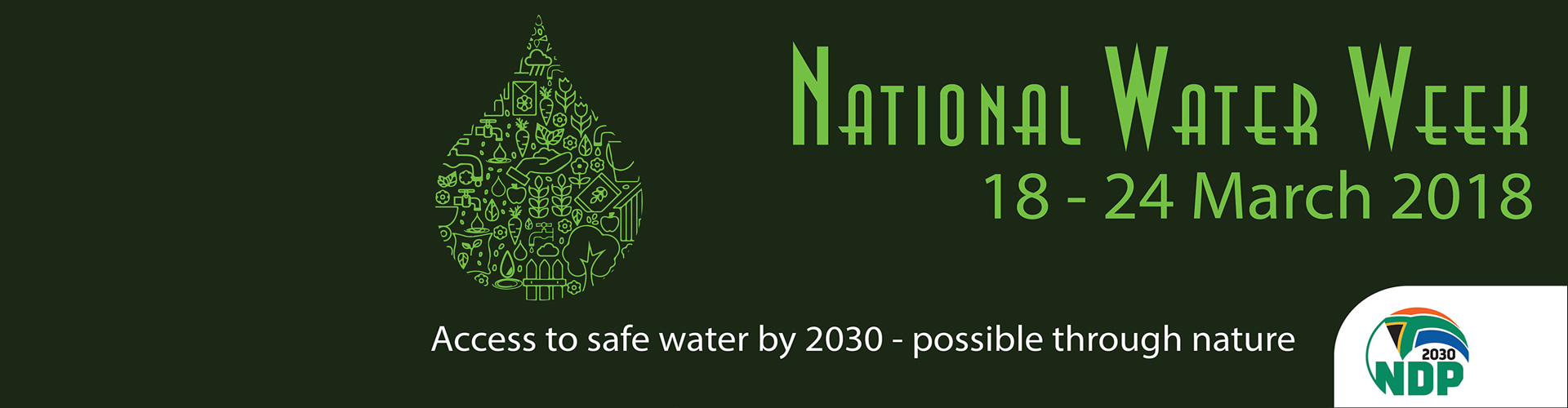 OchriO - Magalies Water - National Water Week 2018 - NDP 2030