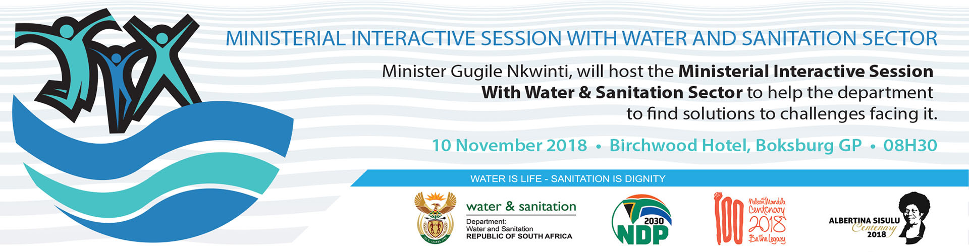 OchriO Magalies Water Ministerial Interactive Session